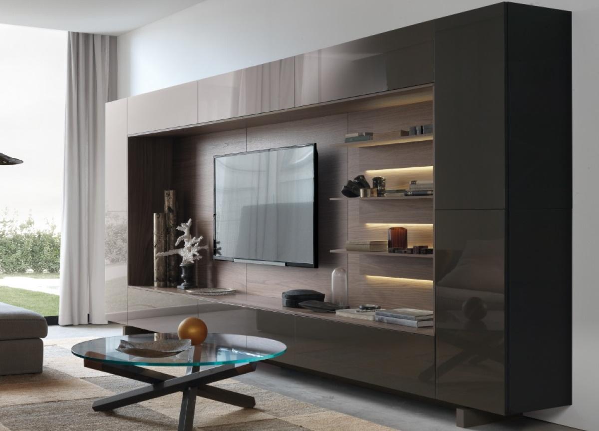 Jesse Open Wall Unit 13 Italian Wall Units At Go Modern Furniture London