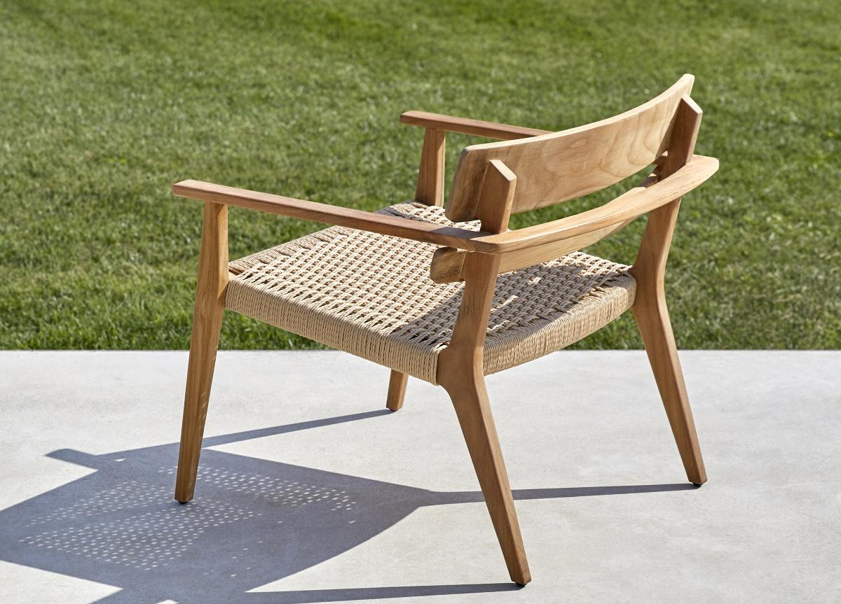 Paralel Garden Club Chair