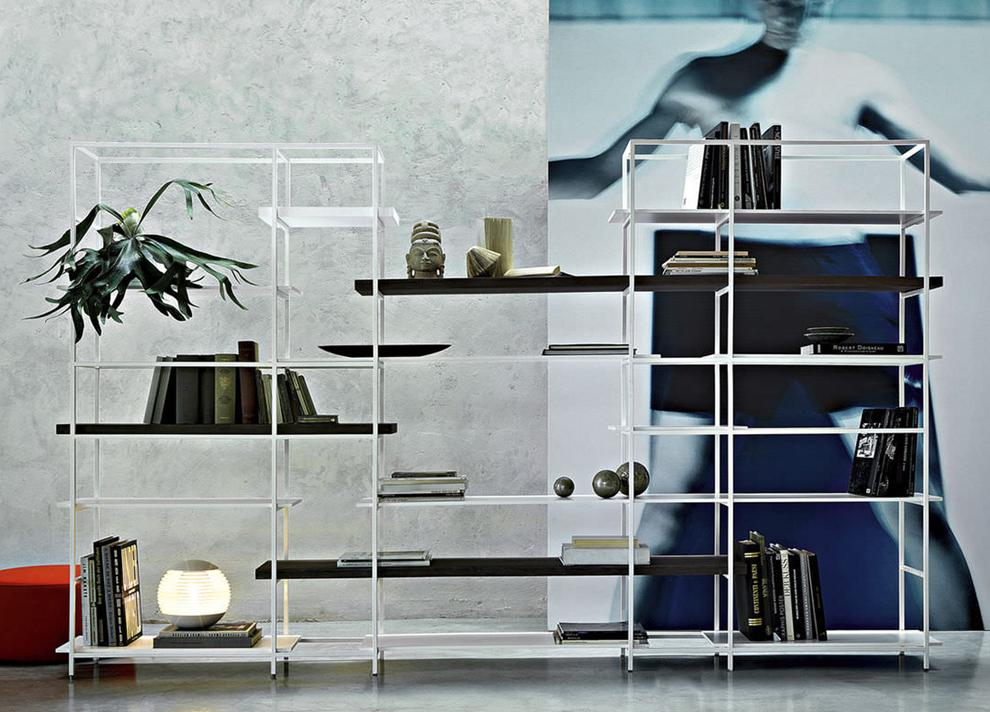 Lema Plain Bookcase/Shelving Unit