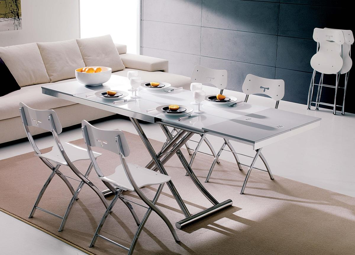 Ozzio Planet Transformable Table