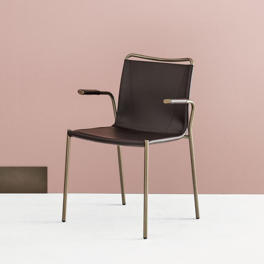 Bontempi Shape Dining Chair with Arms