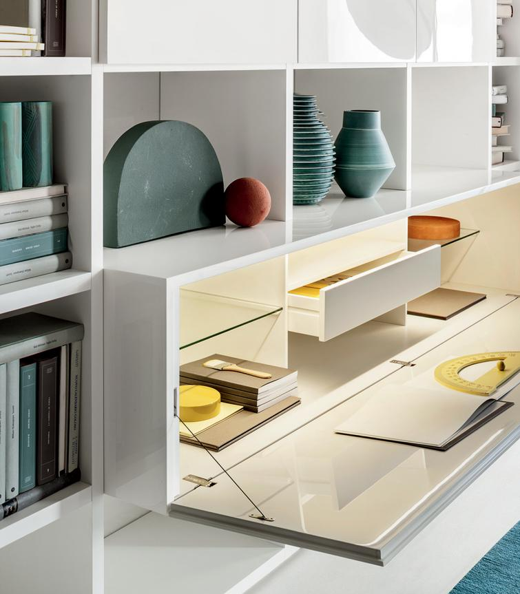 Lema Selecta 03 Wall Unit/Bookcase