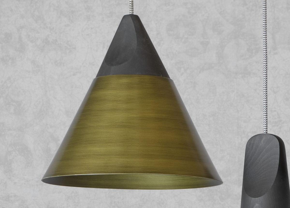 Miniforms Slope Pendant Light in Bronze or Copper