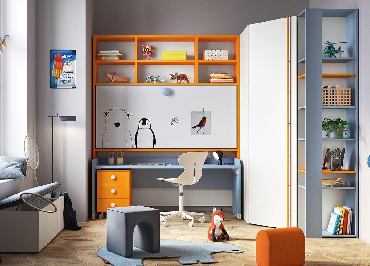 Battistella Nidi Children's Bedroom Space 4