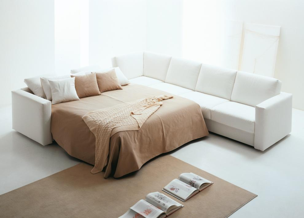 Vibieffe Squadroletto Corner Sofa Bed