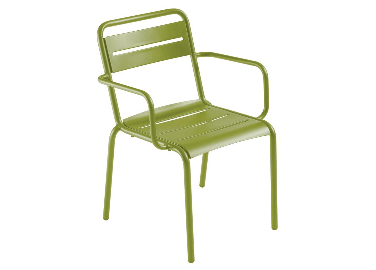 Emu Star Garden Dining Chair With Arms