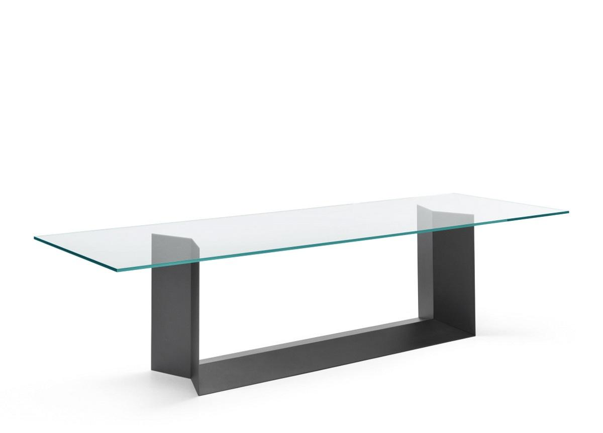 Tonelli T5 Glass Dining Table