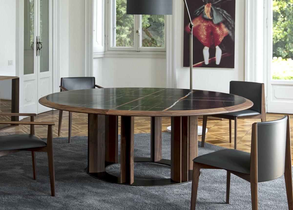 Porada Thayl Round Dining Table Porada Tables Porada Furniture