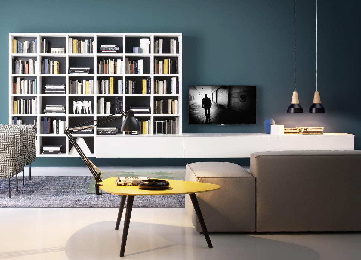 Novamobili Wall Unit Bookcase 08