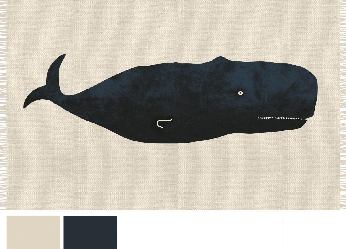 Battistella Whale Contemporary Rug