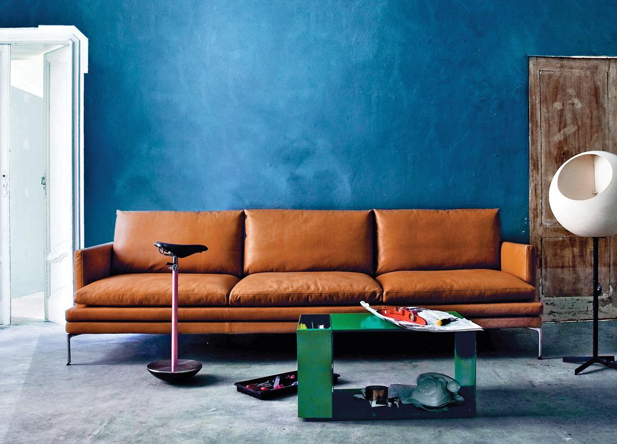 Zanotta William Three Seat Sofa