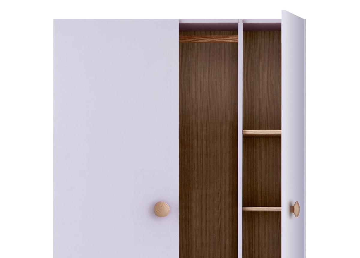 Battistella Woody Wardrobe with Shelves Unit