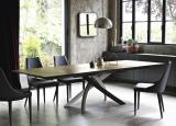 Bontempi Artistico Extending Wood Dining Table