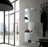 Tonelli Cling Glass Wall Shelves