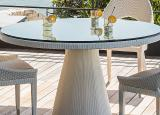 Smania Diomede Round Garden Table
