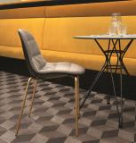 Bontempi Mood Dining Chair with Metal Legs
