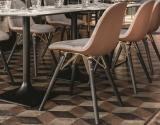 Bontempi Mood Dining Chair with Wooden Legs