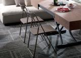 Ozzio Nobys Folding Dining Chair