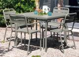 Emu Star Square Garden Dining Table