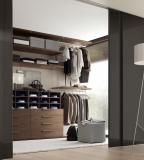 Jesse Walk In Wardrobe with Gloss Lacquer Doors