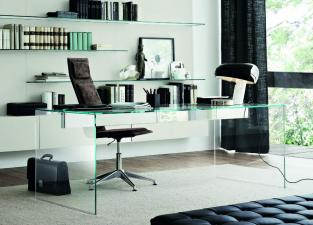 Gallotti & Radice Air Glass Office Desk