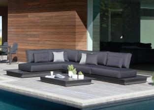 Manutti Air Medium Garden Corner Sofa