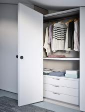 Alfa Fitted Folding Door Wardrobe