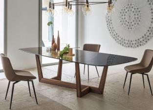 Bonaldo Art Wood Dining Table