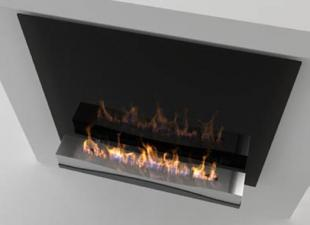 Decoflame Atlantic Wave Bioethanol Fire