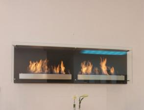 Decoflame Atlantic Twin Bioethanol Fire