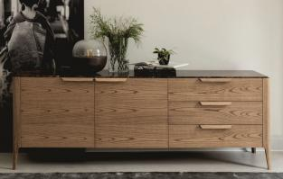 Porada Atlante 3 Sideboard in Ash