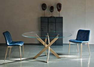 Bontempi Barone Round Dining Table