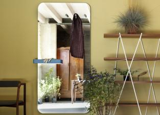 Miniforms Benvenuto Mirror with shelf