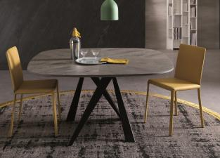 Ozzio Bombo Wood Dining Table