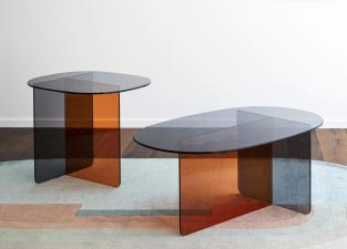 Miniforms Chap Glass Coffee/Side Table