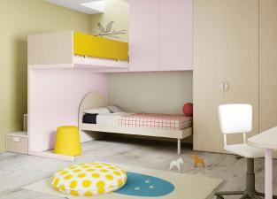 Battistella Nidi Children's Bedroom Composition 06