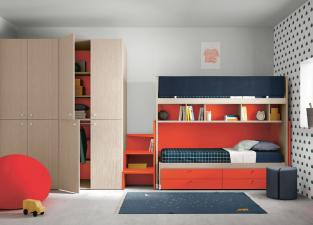 Battistella Nidi Children's Bedroom Composition 12