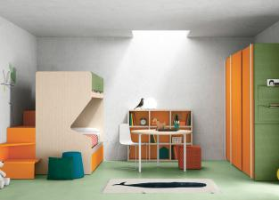 Battistella Nidi Children's Bedroom Composition 22