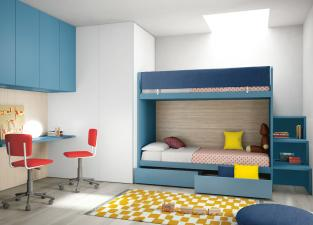 Battistella Nidi Children's Bedroom Composition 23