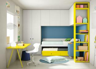 Battistella Nidi Children's Bedroom Composition 26