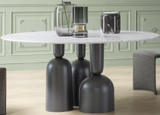 Bonaldo Cop Round Dining Table