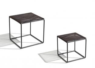 Missoni Home Cordula Leather Side Tables