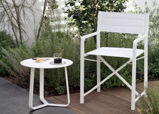 Manutti Cross Garden Dining Chair