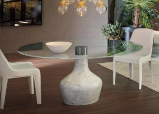 Bonaldo Curling Round Dining Table