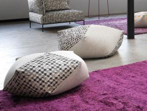Missoni Home Diamante Pouf