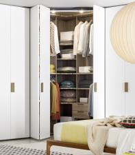 Dotty Corner Bedroom Wardrobe
