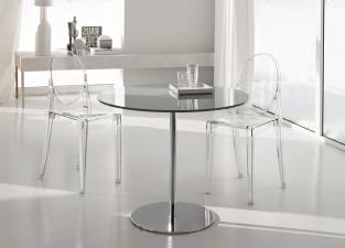 Tonelli Farniente Glass Bistro Table
