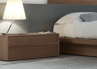 Jesse Feel Bedside Cabinet In Wood