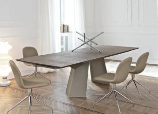 Bontempi Fiandre Extending Dining Table