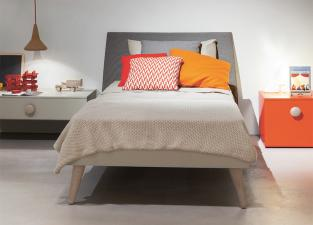 Battistella Woody Flare Single Bed